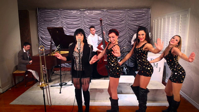 Give It Away - '60s 'Austin Powers' - Style RHCP Cover ft. Aubrey Logan - Postmodern Jukebox