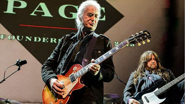 Jimmy Page - EMP Founders Award tribute