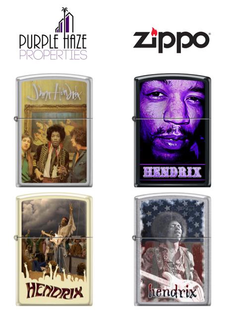 Jimi Hendrix × Zippo