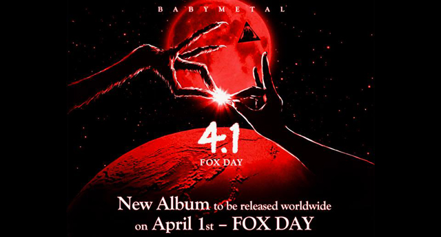 BABYMETAL - new studio album - OUT April 1st 2016