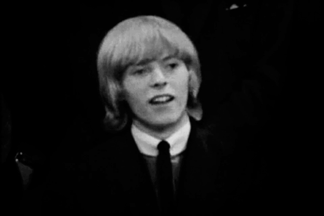 David Bowie 1964 - 17-year-old
