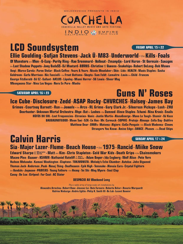 Coachella Valley Music And Arts Festival 2016