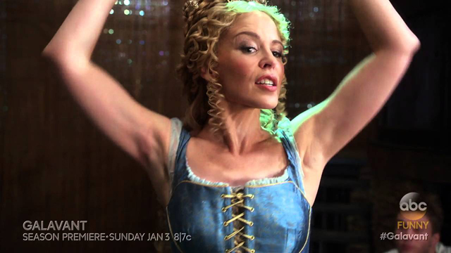 Kylie Minogue in Galavant