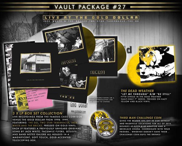 Third Man Records - VAULT PACKAGE #27