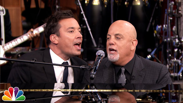 Jimmy Fallon & Billy Joel