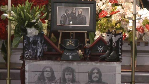 Lemmy Kilmister's Memorial Service
