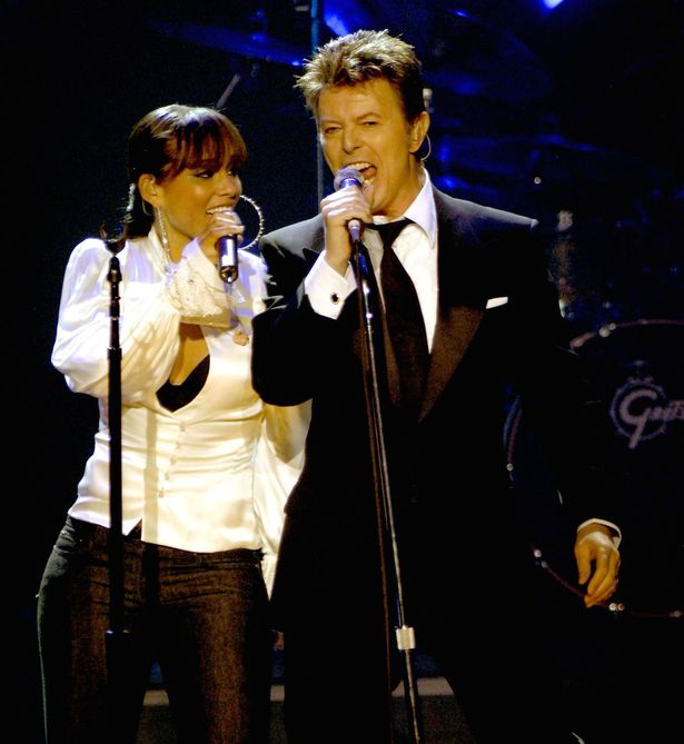 David Bowie and Alicia Keys - 2006