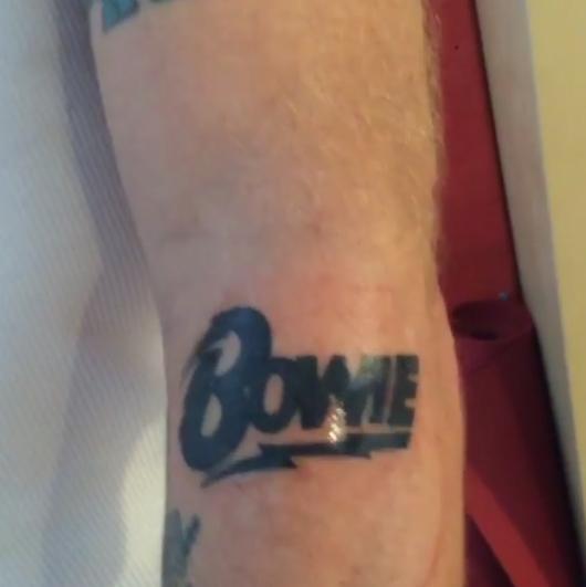 Flea - BOWIE logo