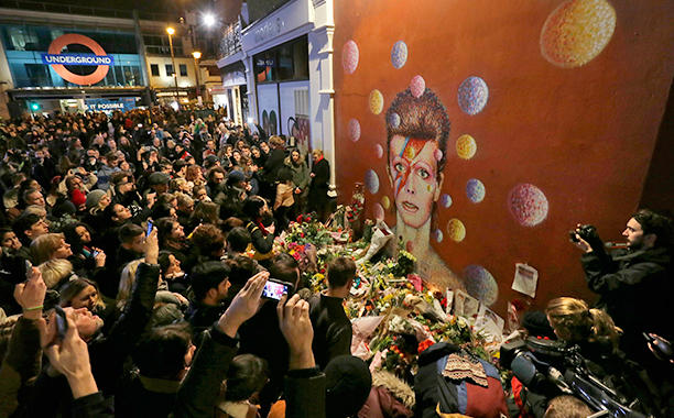 Brixton - RIP David Bowie
