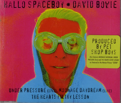 David Bowie / Hallo Spaceboy (Pet Shop Boys Remix)