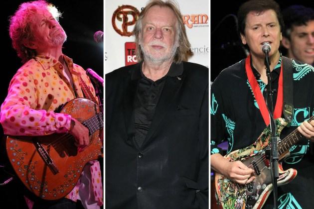 Jon Anderson, Rick Wakeman, Trevor Rabin
