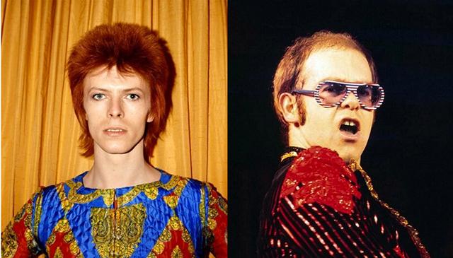Elton John, David Bowie
