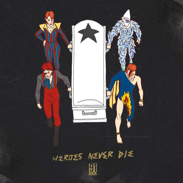 David Bowie - Heroes Never Die