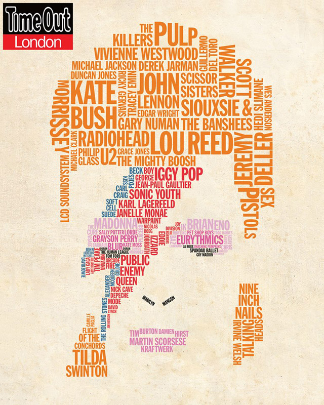 Time Out London - 101 legends who were influenced by David Bowie