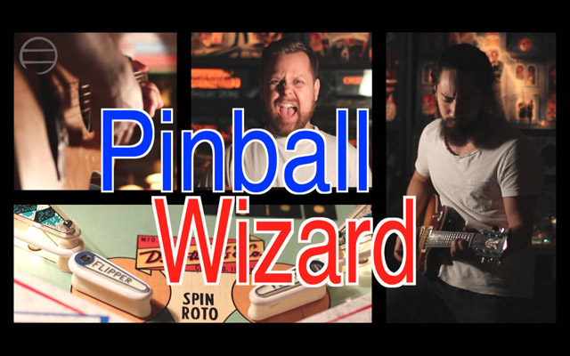 Pinball Wizard - samuraiguitarist and Doug McArthur (The Who Cover)