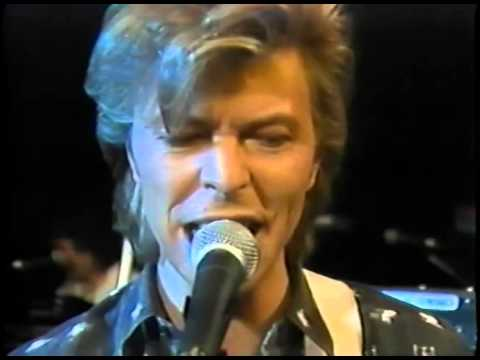 David Bowie NYC Glass Spiders Rehearsal 1987