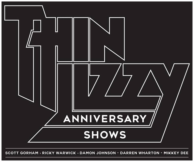 THIN LIZZY announce Anniversary Shows 2016 / 2017