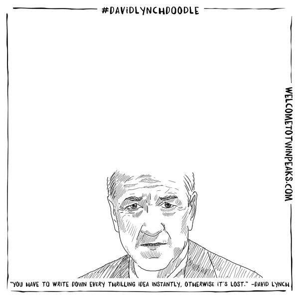 David Lynch Doodle