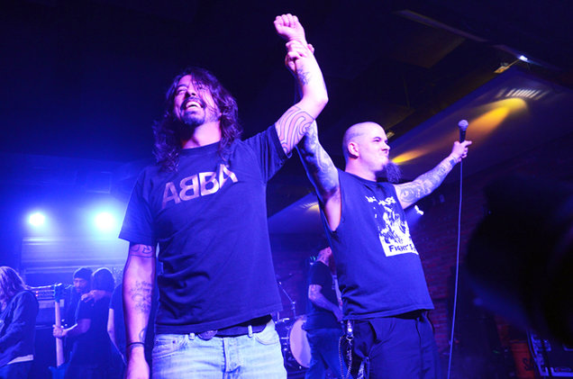 Dave Grohl and Philip Anselmo