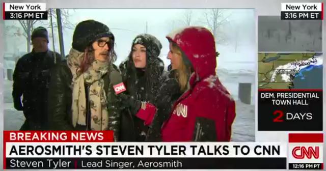 Steven Tyler tells CNN