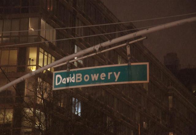 David Bowery Street