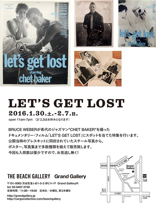 LET'S GET LOST-RARE POSTERS&BOOKS-