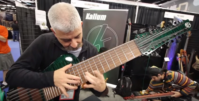 24-String Bass - NAMM
