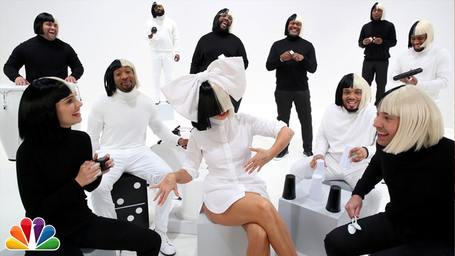 Jimmy Fallon, Sia, Natalie Portman & The Roots Sing