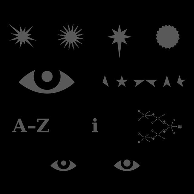 David Bowie / ★ - ARTWORK ELEMENTS