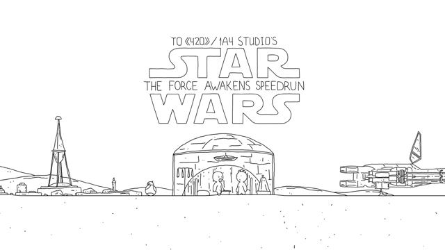 Speedrun: Star Wars VII: The Force Awakens (s02ep01)