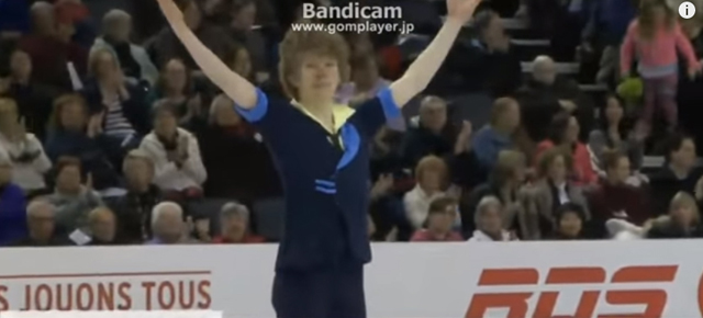 Kevin Reynolds 2016 Canadian Tire National Skating Championships SP