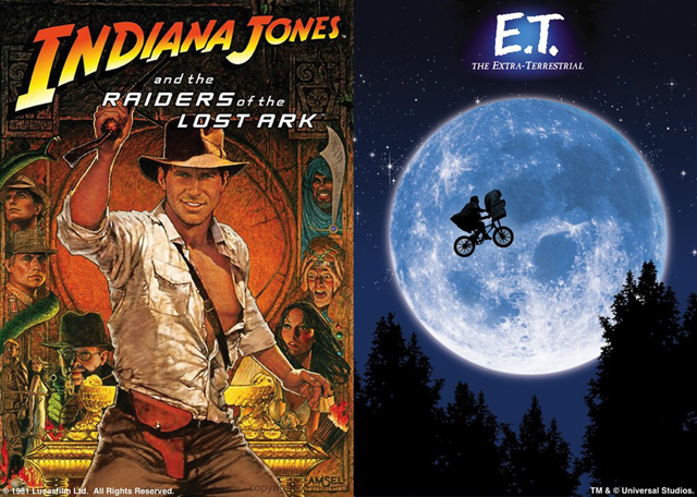 『レイダース/失われたアーク《聖櫃》』『E.T.』