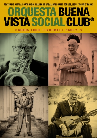 Buena Vista Social Club - ADIOS TOUR 〜Farewell Party〜