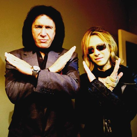 Gene Simmons and Yoshiki