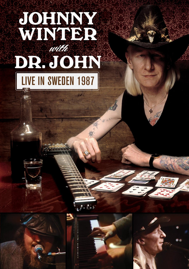 Johnny Winter with Dr. John / Live In Sweden 1987