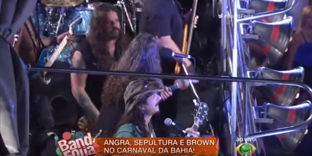 Sepultura and Angra - carnaval salvador 2016