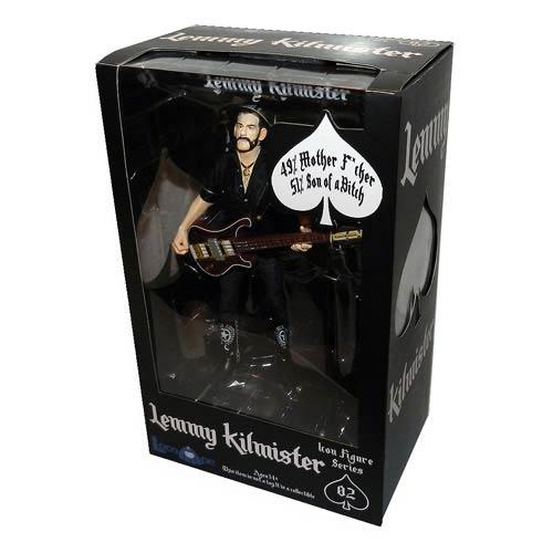 Motorhead Lemmy Kilmister 6-Inch Action Figure - LocoApe