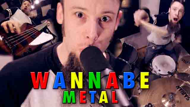 Wannabe (metal cover by Leo Moracchioli)
