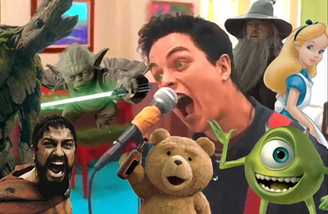 Green Day's 'Basket Case' Sung by 109 Movies