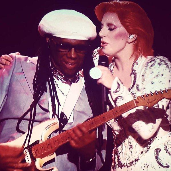 Lady GaGa and Nile Rodgers