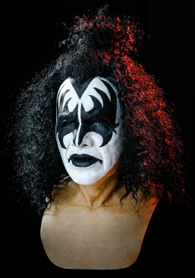 KISS GENE SIMMONS DEMON MASK
