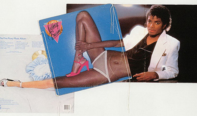 Christian Marclay - Collage Arts from Famous Album Covers