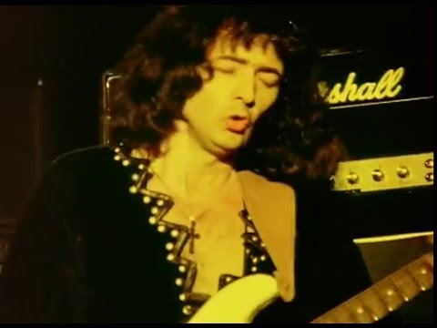 Ritchie Blackmore with Rainbow at Castle Donington 1980