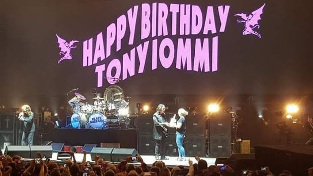 Black Sabbath, Toni Iommi Birthday 02.19.16