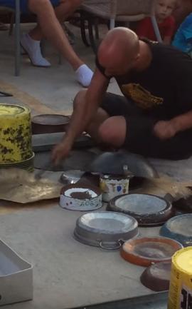 Dario Rossi - Techno Street Drummer