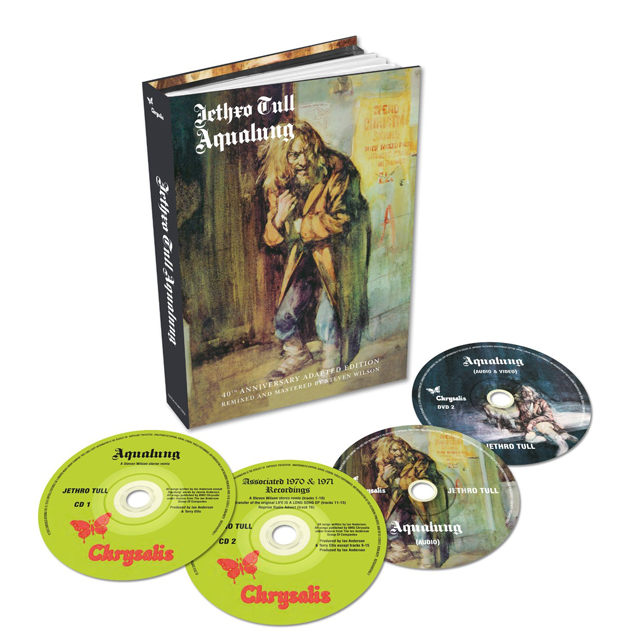 Jethro Tull / Aqualung - 40th Anniversary Box (2CD/2DVD book set)
