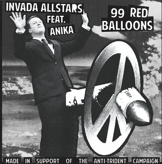 Invada Allstars Feat. Anika / 99 Red Balloons