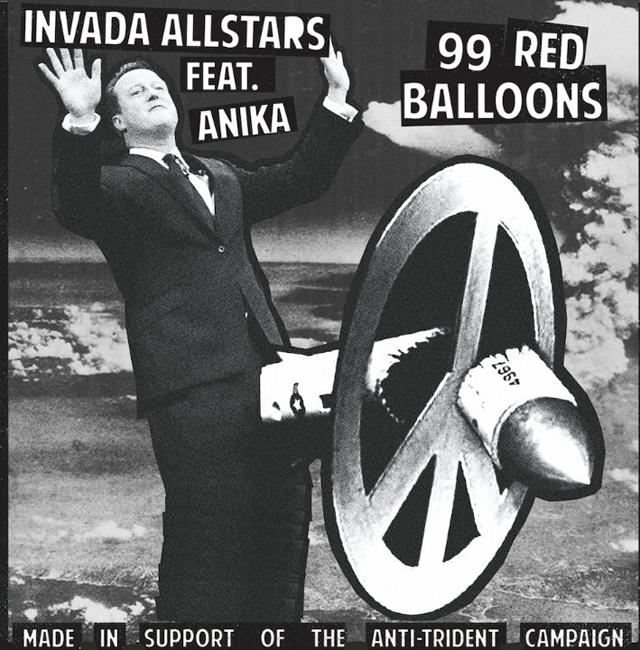 Invada Allstars Feat. Anika / 99 Red Balloons