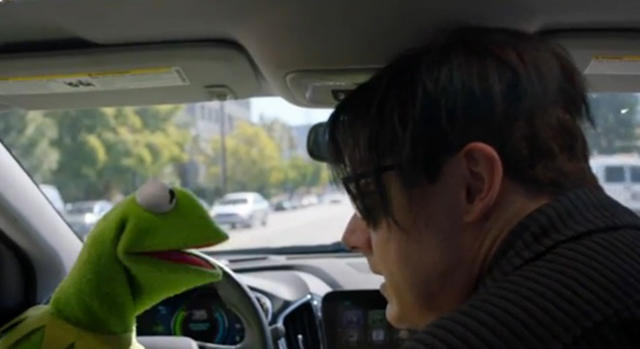 Jack White and Kermit the Frog