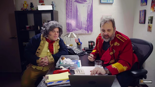 Jack Black plays Beethoven - Great Minds with Dan Harmon